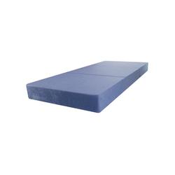 Klappmatratze Klappmatratze Faltmatratze Gästematratze Reisematratze 195x80x15 Marmor Blau, Stillerbursch, 15 cm hoch