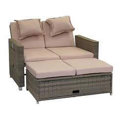 greemotion Bahia Twin Loungesofa grau