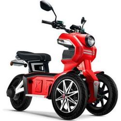 Doohan eGo2 Dreirad Elektroroller 1560W - 45km/h, rot