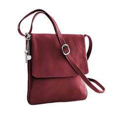 Avena Damen Leder-Handtasche Every Day Rot 1