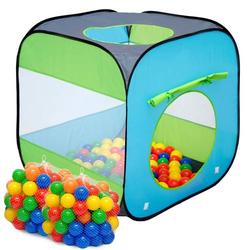 LittleTom Spielzelt Popup Kinderzelt Bällebad-Pool Arielle inkl. 200 Bällebadbällen
