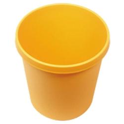 Wischstar Papierkorb Abfalleimer Mülleimer gelb