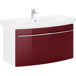 MARLIN Waschtisch 3043, Breite 100,8 cm rot