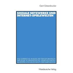 Soziale Netzwerke und Internet-Spielewelten
