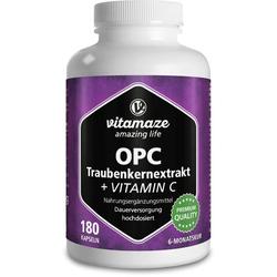 OPC TRAUBENKERNEXTRAKT hochdosiert+Vitamin C Kaps. 180 St.