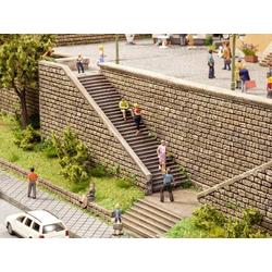 NOCH 0058303 H0 Treppen-Set Hartschaum-Fertigmodell