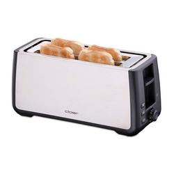 Cloer Toaster Toaster 3579 Doppelschlitztoaster weiß