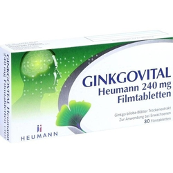 GINKGOVITAL Heumann 240 mg Filmtabletten 30 St.