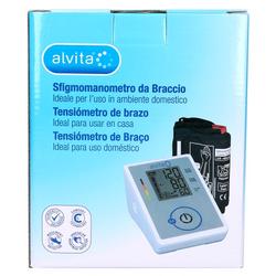 ALVITA Blutdruckmessgerät Oberarm 1 St
