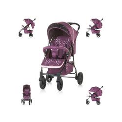 Chipolino Kinder-Buggy Chipolino Kinderwagen Buggy Mixie, klappbar, schwenkbare Vorderräder, Sonnendach lila
