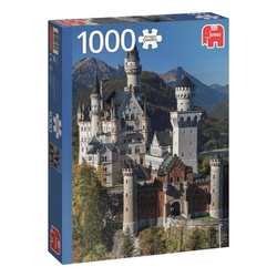 Jumbo Spiele Puzzle Jumbo 18558 Neuschwanstein 1000 Teile Puzzle, 1000 Puzzleteile bunt