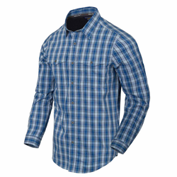 Helikon Tex Covert Concealed Carry Shirt ozark blue plaid, Größe XXL