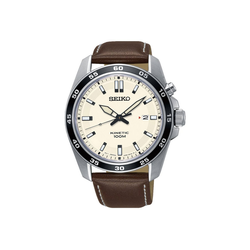 Seiko Kineticuhr SKA787P1, Herren Kinetic Armbanduhr