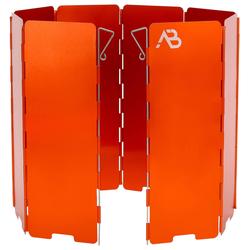 Anton Blöchl Windschutz faltbar Alu 8 Lamellen orange