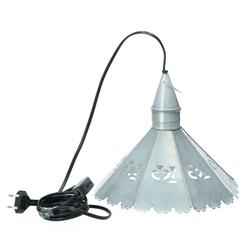 Hoff Lampe Metall Schirmlampe Deckenlampe Muster