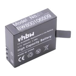 vhbw Akku passend für Nexgadget Action Camera Videokamera Camcorder (900mAh, 3,7V, Li-Ion)