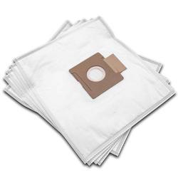 vhbw 10 Staubsaugerbeutel passend für AmazonBasics Bodenstaubsauger 1,5l Staubsauger, Mikrovlies