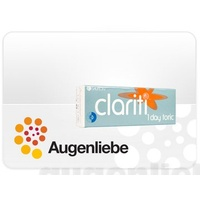 CooperVision Clariti 1 day Toric (30er Pack) / 8.60 BC / 14.30 DIA / -4.50 DPT / -1.25 CYL /