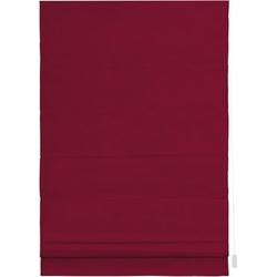 Raffrollo Raffrollo, LICHTBLICK, mit Klettschiene, Verdunkelung, im Fixmaß rot 90 cm x 180 cm