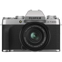 Fujifilm X-T200 silber + XC 15-45mm OIS PZ schwarz