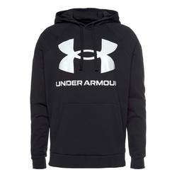 Under Armour Kapuzensweatshirt UA RIVAL FLEECE BIG LOGO HD schwarz Herren Sweatshirts -jacken