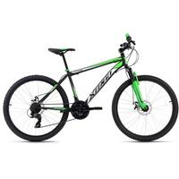 KS-CYCLING KS Cycling Mountainbike Hardtail 26'' Xtinct 21 Gang Shimano Tourney Schaltwerk, Kettenschaltung schwarz