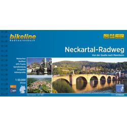 Neckartal-Radweg 1:50.000 als Buch von