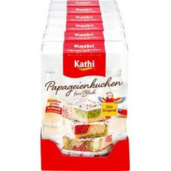 Kathi Papageienkuchen 840 g, 6er Pack