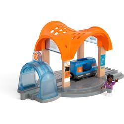 BRIO® Spielzeugeisenbahn-Tunnel BRIO® Smart Tech Sound Bahnhof mit Action Tunnel