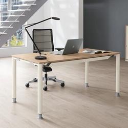 Palmberg SYSTO TEC Schreibtisch Vierfuß Rundrohr