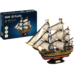 Revell® 3D-Puzzle Revell 3D Puzzle 00171 HMS Victory, das Flaggschiff von Admiral Nelson, Puzzleteile