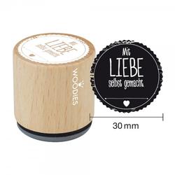 Woodies Stempel - Mit Liebe selbstgemacht W05002