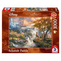 SCHMIDT SPIELE (UE) Bambi 1.000 Teile Puzzle Mehrfarbig