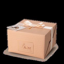 Panettone NeroSale, Schokolade und Salzkaramell, 1 kg - Loison