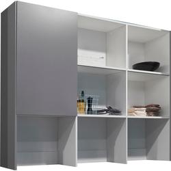 OPTIFIT Aufsatzregal Bern grau Zubehör für Kleiderschränke Möbel Möbelaufsätze