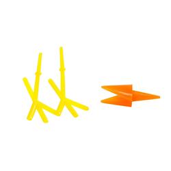 VBS Dekofigur Schnäbel und Füße, 8 Paar
