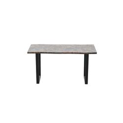 HTI-Line Esstisch Tisch Detroit marmor dunkel Detroit, Esstisch