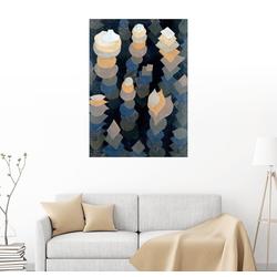 Posterlounge Wandbild, Wachstum der Nachtpflanzen 50 cm x 70 cm
