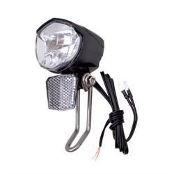 Filmer LED Scheinwerfer Fahrradlampe LED−Scheinwerfer für Anschluss an Dynamos 70 LUX
