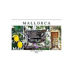 Mallorca - Mallorquinische Impressionen (Wandkalender 2021 DIN A3 quer)