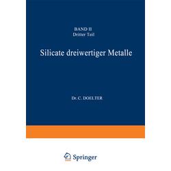 Silicate dreiwertiger Metalle als Buch von