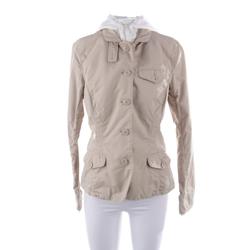 Woolrich Damen Jacke beige / weiß, Größe M, 4995401