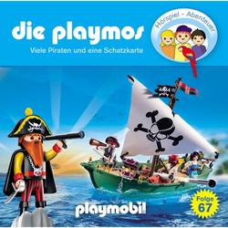 Die Playmos, Folge 67: Viele Piraten und eine Schatzkarte