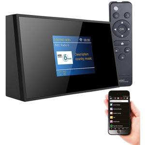 VR-Radio WLAN Radio Tuner: Digitaler WLAN-HiFi-Tuner mit Internetradio, DAB+, UKW, Fernbedienung (DAB Radio mit WLAN)