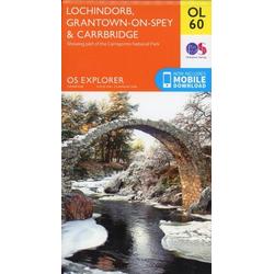 Lochindorb Grantown-on-Spey & Carrbridge 1 : 25 000