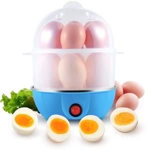 Uten elektrischer Eierkocher testsieger,350W eierköpfer für 12 Eier, Doppelter egg cooker mit Eierbecher,mit Edelstahlschale,BPA-freies,Heizungsschutz, mit Indikationsleuchte [Energieklasse A+]
