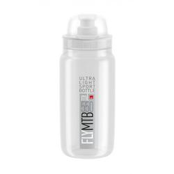 Elite Trinkflasche Trinkflasche Elite Fly MTB 550ml, klar/grau