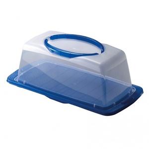Kuchenbehälter Rechteckig Vorgänger Hellgrün/Türkis/Dunkelrosa