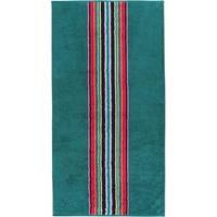 Mittenstreifen 175 Handtuch 50 x 100 cm smaragd