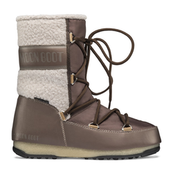 Moon Boots Monaco Wool Mid WP - Moon Boots - Damen Brown 38 EUR